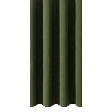 Gordijnstof Rome - groen - Leen Bakker