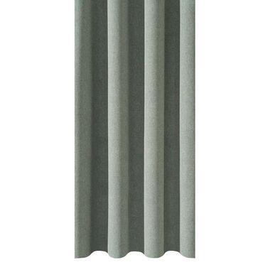 Gordijnstof Leonard - lichtgroen - 150 centimeter - Leen Bakker