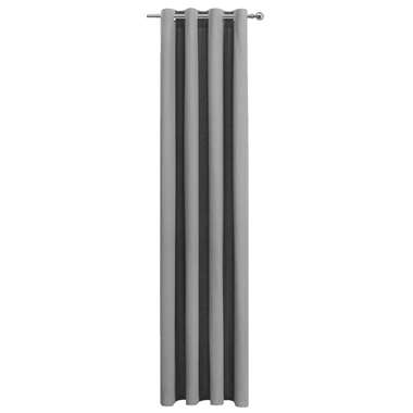 Gordijn Jesse - antraciet - 250x140 cm (1 stuk) - Leen Bakker
