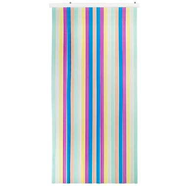Vliegengordijn Saba - multikleur - 220x93 cm - Leen Bakker