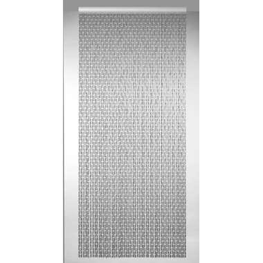 Vliegengordijn Havana - grijs - 100x230 cm - Leen Bakker