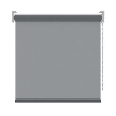 Rolgordijn lichtdoorlatend antraciet 270x190 cm Leen Bakker