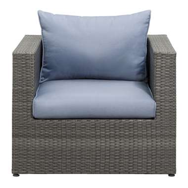 Le Sud fauteuil Ancona - grijs - Leen Bakker