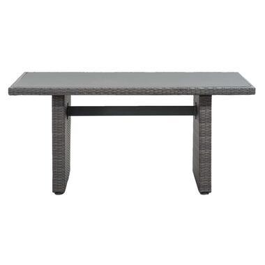 Le Sud tafel Ancona - grijs - 145x85x66 cm - Leen Bakker