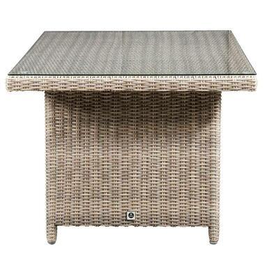 Le Sud tafel Verona - grijs - 84,5x146x65,5 cm - Leen Bakker
