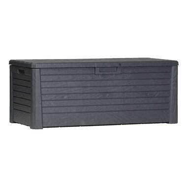 Kussenbox Florida - antraciet - 60x148x72 cm - Leen Bakker