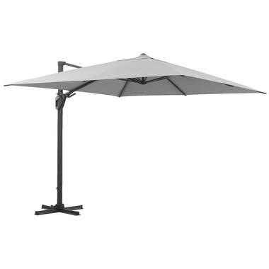 Le Sud freepole parasol Biarritz - grijs - 300x300 cm - Leen Bakker