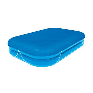 Bestway afdekzeil - blauw - 262x175x51 cm - Leen Bakker