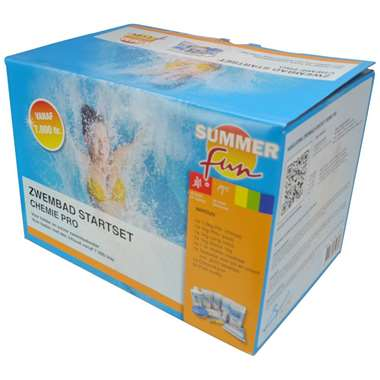 Summer Fun - zwembad startset - chemie Pro - Leen Bakker