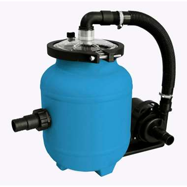 Blue Bay filterpomp - speedclean 4m³ - blauw - 61x26x25,5 cm - Leen Bakker