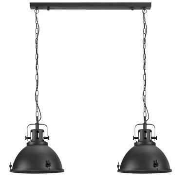 Hanglamp Carlos - zwart - 120x90x38 cm - Leen Bakker