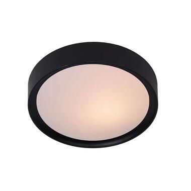 Lucide plafondlamp Lex - 36 cm - zwart - Leen Bakker