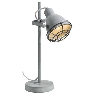 Tafellamp Do - cementkleur - Leen Bakker
