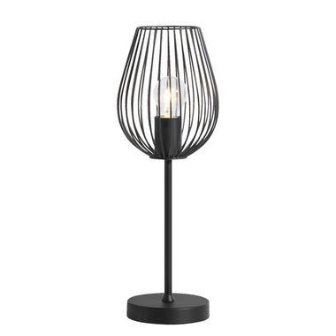 Tafellamp Lagos - mat zwart - Leen Bakker