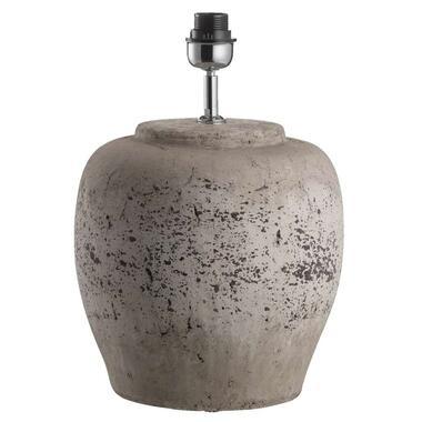 Voet Tafellamp Sofie - antiek grijs - 40,5xØ30 cm - Leen Bakker