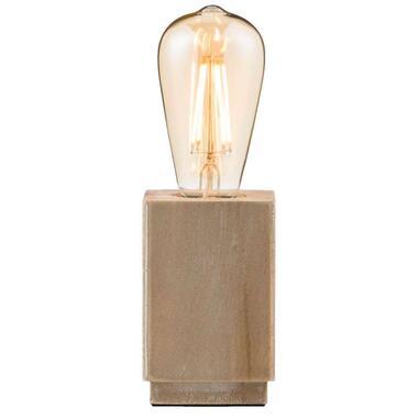 Tafellamp Vintage bruin 25x8x8 cm Leen Bakker