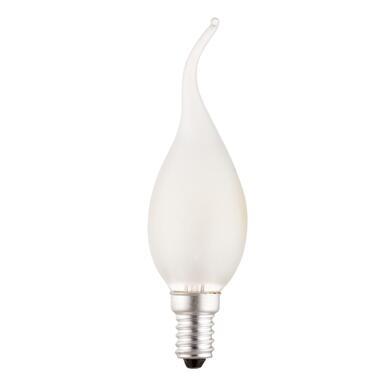 Calex tip kaarslamp 10W E14 - mat - Leen Bakker