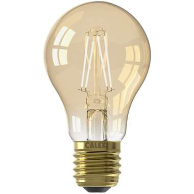 Calex LED filament standaardlamp E27 - goud - Leen Bakker