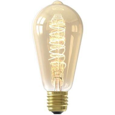 LED rustieklamp - goudkleurig - 4W-E27 - Leen Bakker