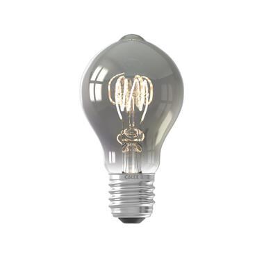 LED standaardlamp - titaniumkleur - 4W-E27 - Leen Bakker
