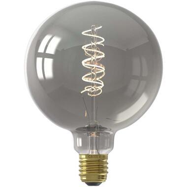 LED globelamp - titaniumkleur - 4W-E27 - Leen Bakker