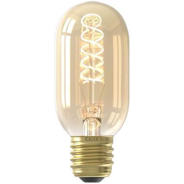 LED buismodel lamp - goudkleur - 4W-E27 - Leen Bakker