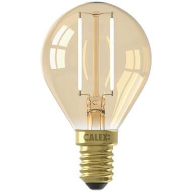 Calex LED kogellamp 240V 2W E14 - goud - Leen Bakker