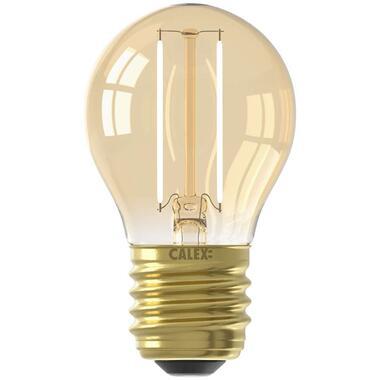 Calex LED kogellamp 240V 2W E27 - goud - Leen Bakker