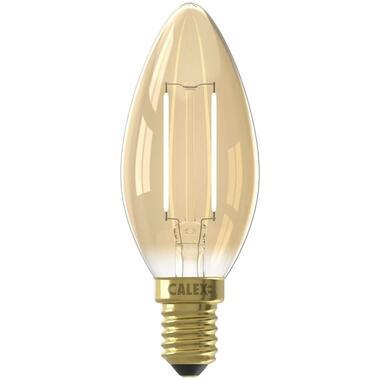 Calex LED kaarslamp 240V 2W E14 - goud - Leen Bakker