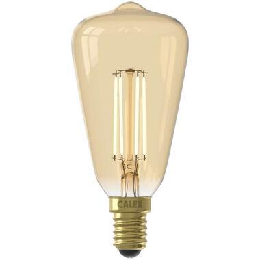 Calex LED Rustieklamp 240V 4W E14 - goud - Leen Bakker