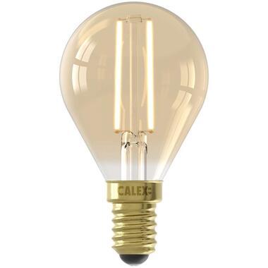 Calex LED kogellamp 240V 3,5W E14 - goud - Leen Bakker