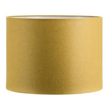Kap Cilinder - okergeel - 40x30 cm - Leen Bakker