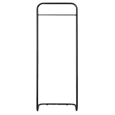 Kledingrek Nagoya - zwart - 161x60x50 cm - Leen Bakker