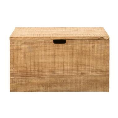 Opbergkist Ronald - naturel - 45x80x45 cm - Leen Bakker