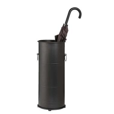 Paraplubak Marnix - mat zwart - 50xØ22 cm - Leen Bakker