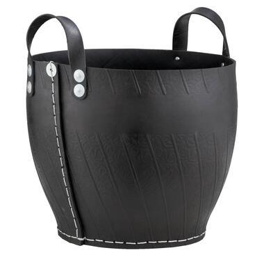 Mand gijs is een decoratieve mand, gemaakt van rubber. door het gebruik van rubber heeft de mand een stoere ...