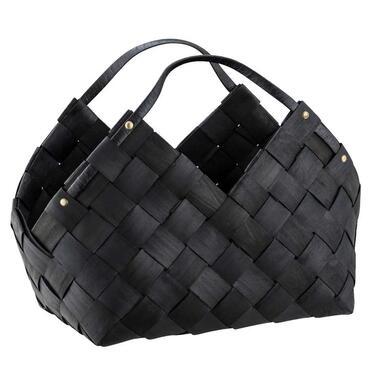 Opbergmand Lima - zwart - 27x40x40 cm