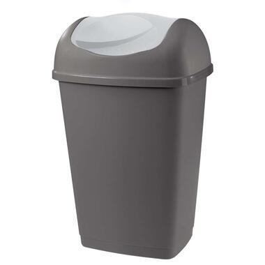 Afvalbak Grace - antraciet - 25l