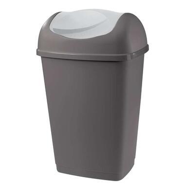 Afvalbak Grace - antraciet - 50l