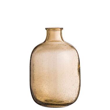 Vaas Rowan - bruin - 29x16 cm - Leen Bakker