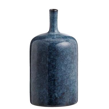 Vaas Tiemen blauw 24x124 cm Leen Bakker