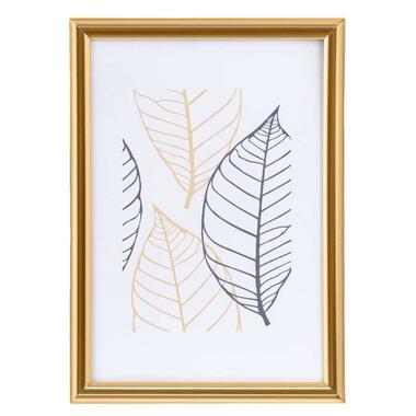 Fotolijst Easy Frame - goudkleur - 10x15 cm - Leen Bakker