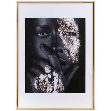 Fotolijst Easy Frame - goudkleur - 50x70 cm - Leen Bakker