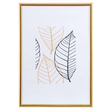 Fotolijst Easy Frame - goudkleurig - 21x30 cm - Leen Bakker