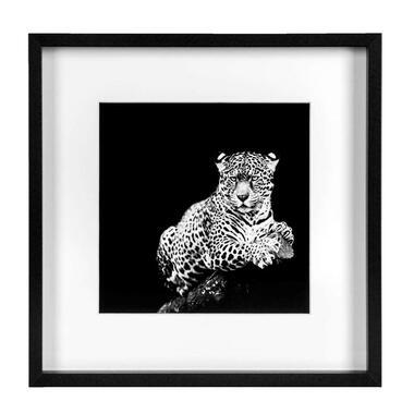 Fotolijst Goes - zwart - 30x30 cm - Leen Bakker