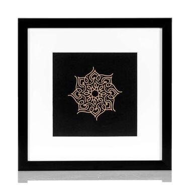 Fotolijst Maribor - zwart - 23x23 cm - Leen Bakker