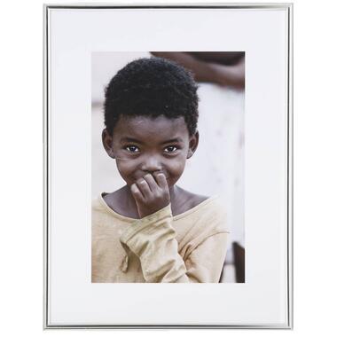 Fotolijst - zilver - 30x40 cm - Leen Bakker