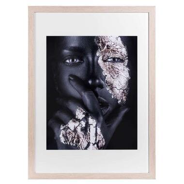 Fotolijst Utrecht - naturel - 50x70 cm - Leen Bakker