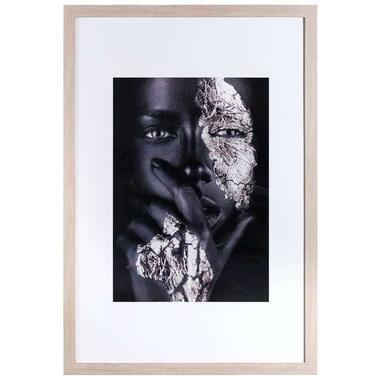 Fotolijst Utrecht - naturel - 61x91,5 cm - Leen Bakker