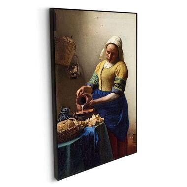 Schilderij Het Melkmeisje - multikleur - 118x70 cm - Leen Bakker